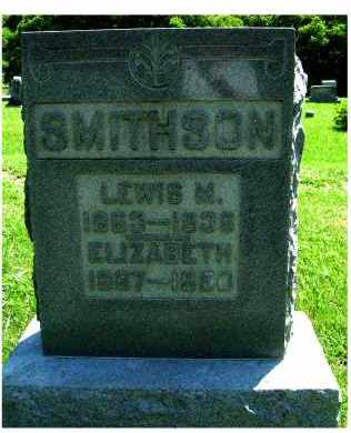 SMITHSON, ELIZABETH - Adams County, Ohio | ELIZABETH SMITHSON - Ohio Gravestone Photos