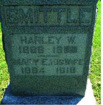 SMITTLE, HARLEY W. - Adams County, Ohio | HARLEY W. SMITTLE - Ohio Gravestone Photos