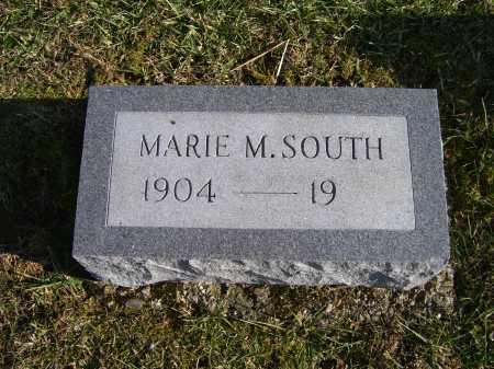 SOUTH, MARIE M. - Adams County, Ohio | MARIE M. SOUTH - Ohio Gravestone Photos
