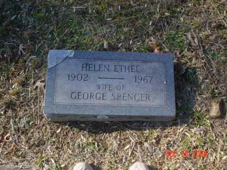 SPENCER, HELEN ETHEL - Adams County, Ohio   HELEN ETHEL SPENCER - Ohio Gravestone Photos
