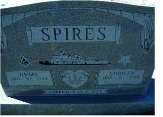 SPIRES, JIMMY - Adams County, Ohio | JIMMY SPIRES - Ohio Gravestone Photos