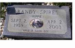 SPIRES, RANDY - Adams County, Ohio   RANDY SPIRES - Ohio Gravestone Photos