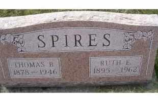 SPIRES, RUTH E. - Adams County, Ohio | RUTH E. SPIRES - Ohio Gravestone Photos