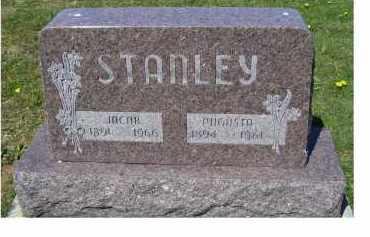 STANLEY, AUGUSTA - Adams County, Ohio | AUGUSTA STANLEY - Ohio Gravestone Photos