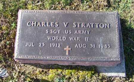 STRATTON, CHARLES V. - Adams County, Ohio   CHARLES V. STRATTON - Ohio Gravestone Photos