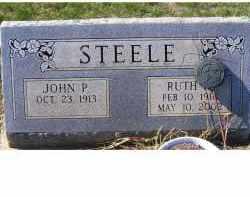 STEELE, JOHN P. - Adams County, Ohio | JOHN P. STEELE - Ohio Gravestone Photos