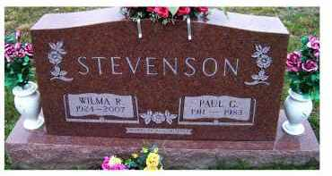 STEVENSON, PAUL G. - Adams County, Ohio | PAUL G. STEVENSON - Ohio Gravestone Photos