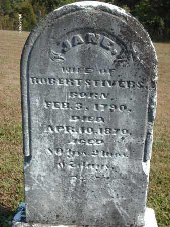 STIVERS, JANE - Adams County, Ohio | JANE STIVERS - Ohio Gravestone Photos