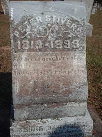 STIVERS, PETER - Adams County, Ohio | PETER STIVERS - Ohio Gravestone Photos