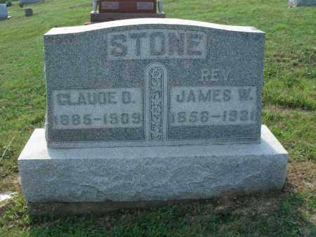 STONE, CLAUDE B - Adams County, Ohio | CLAUDE B STONE - Ohio Gravestone Photos