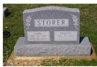 STORER, EVELYN - Adams County, Ohio | EVELYN STORER - Ohio Gravestone Photos