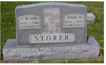 STORER, MARY E. - Adams County, Ohio | MARY E. STORER - Ohio Gravestone Photos
