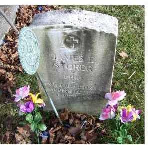 STORER, JAMES E. - Adams County, Ohio | JAMES E. STORER - Ohio Gravestone Photos