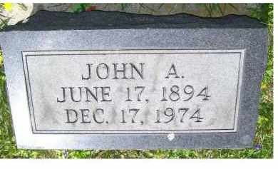 STORER, JOHN A. - Adams County, Ohio   JOHN A. STORER - Ohio Gravestone Photos
