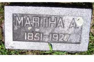 STORER, MARTHA A. - Adams County, Ohio   MARTHA A. STORER - Ohio Gravestone Photos
