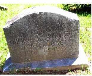 STORER, MINNIE E. - Adams County, Ohio   MINNIE E. STORER - Ohio Gravestone Photos