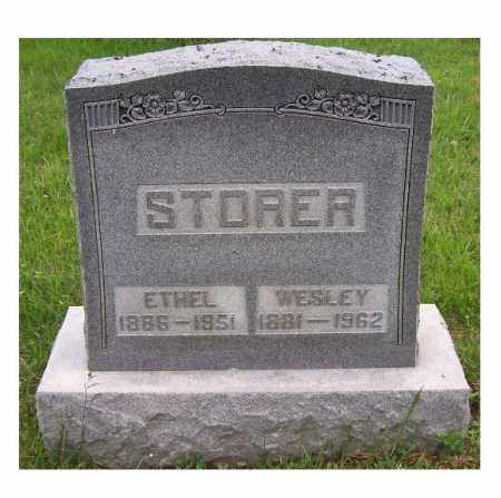 STORER, ETHEL - Adams County, Ohio | ETHEL STORER - Ohio Gravestone Photos