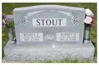 STOUT, AUDREY F. - Adams County, Ohio | AUDREY F. STOUT - Ohio Gravestone Photos