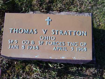 STRATTON, THOMAS V. - Adams County, Ohio | THOMAS V. STRATTON - Ohio Gravestone Photos