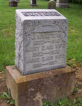 SUITERS, J. W - Adams County, Ohio | J. W SUITERS - Ohio Gravestone Photos