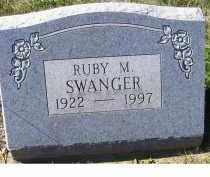 SWANGER, RUBY M. - Adams County, Ohio | RUBY M. SWANGER - Ohio Gravestone Photos