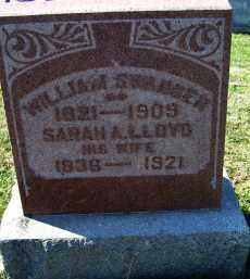 LLOYD SWANGER, SARAH A. - Adams County, Ohio | SARAH A. LLOYD SWANGER - Ohio Gravestone Photos