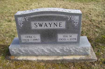 SWAYNE, ORBA G. - Adams County, Ohio | ORBA G. SWAYNE - Ohio Gravestone Photos