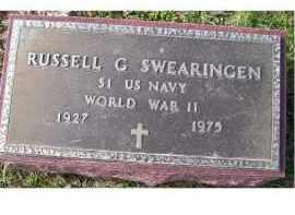 SWEARINGEN, RUSSELL G. - Adams County, Ohio   RUSSELL G. SWEARINGEN - Ohio Gravestone Photos