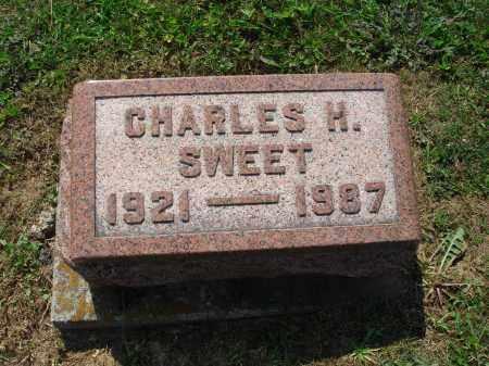 SWEET, CHARLES H - Adams County, Ohio | CHARLES H SWEET - Ohio Gravestone Photos