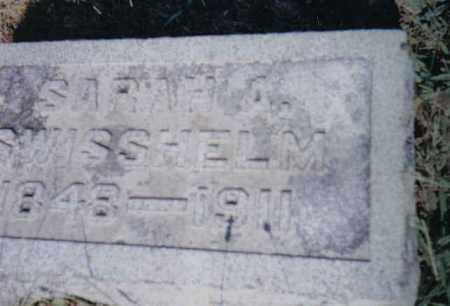YANKIE SWISSHELM, SARAH A. - Adams County, Ohio | SARAH A. YANKIE SWISSHELM - Ohio Gravestone Photos