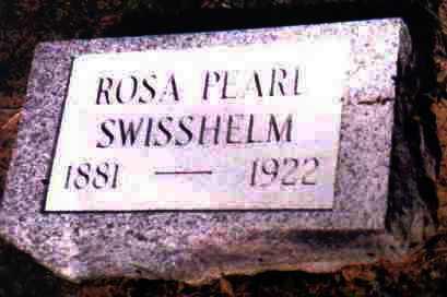 SWISSHELM, ROSA PEARL - Adams County, Ohio | ROSA PEARL SWISSHELM - Ohio Gravestone Photos