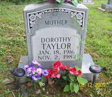 TAYLOR, DOROTHY - Adams County, Ohio   DOROTHY TAYLOR - Ohio Gravestone Photos