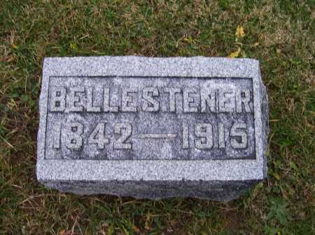 TENER, BELLE S. - Adams County, Ohio | BELLE S. TENER - Ohio Gravestone Photos