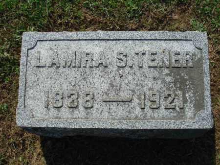 TENER, LAMIRA S. - Adams County, Ohio | LAMIRA S. TENER - Ohio Gravestone Photos