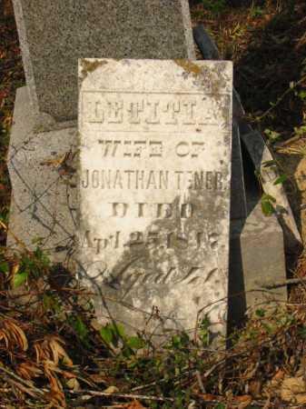 TENER, LETITIA - Adams County, Ohio | LETITIA TENER - Ohio Gravestone Photos
