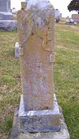 TENER, MARTHA E. - Adams County, Ohio | MARTHA E. TENER - Ohio Gravestone Photos
