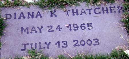 EULETT THATCHER, DIANA - Adams County, Ohio | DIANA EULETT THATCHER - Ohio Gravestone Photos