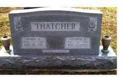 THATCHER, GENEVA O. - Adams County, Ohio | GENEVA O. THATCHER - Ohio Gravestone Photos