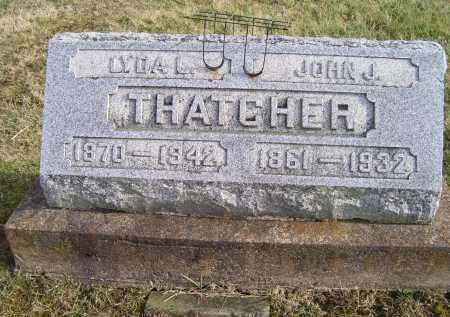 THATCHER, LYDA L. - Adams County, Ohio   LYDA L. THATCHER - Ohio Gravestone Photos