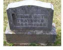 THATCHER, NORMA RUTH - Adams County, Ohio   NORMA RUTH THATCHER - Ohio Gravestone Photos