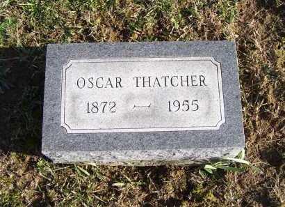 THATCHER, OSCAR - Adams County, Ohio | OSCAR THATCHER - Ohio Gravestone Photos