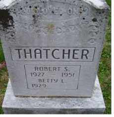 THATCHER, BETTY L. - Adams County, Ohio   BETTY L. THATCHER - Ohio Gravestone Photos