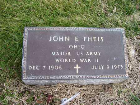 THEIS, JOHN E. - Adams County, Ohio | JOHN E. THEIS - Ohio Gravestone Photos
