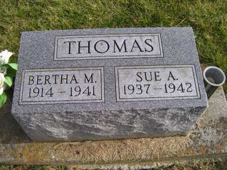 THOMAS, BERTHA M. - Adams County, Ohio | BERTHA M. THOMAS - Ohio Gravestone Photos
