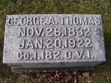 THOMAS, GEORGE A. - Adams County, Ohio | GEORGE A. THOMAS - Ohio Gravestone Photos