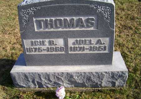 THOMAS, JOEL A. - Adams County, Ohio | JOEL A. THOMAS - Ohio Gravestone Photos