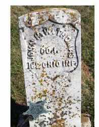 THOMAS, JOHN H.W. - Adams County, Ohio | JOHN H.W. THOMAS - Ohio Gravestone Photos