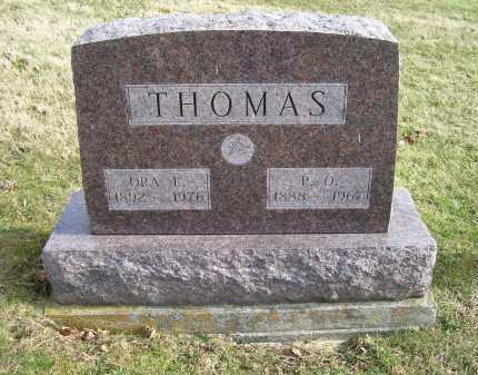 THOMAS, P.O. - Adams County, Ohio | P.O. THOMAS - Ohio Gravestone Photos