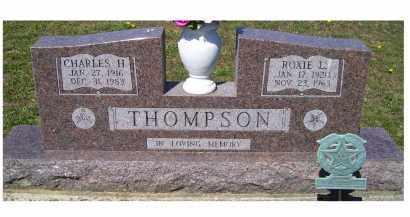 THOMPSON, CHARLES H. - Adams County, Ohio | CHARLES H. THOMPSON - Ohio Gravestone Photos