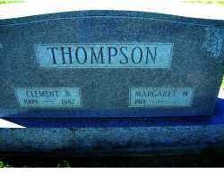 THOMPSON, MARGARET M. - Adams County, Ohio | MARGARET M. THOMPSON - Ohio Gravestone Photos
